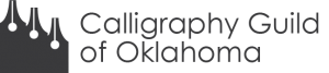 Calligraphy Guild of Oklahoma logo