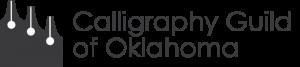 Calligraphy Guild of Oklahoma logo